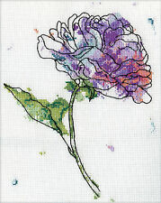 Cross Stitch Kit ~ Design Works Lilac Floral #DW2972