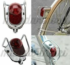 Classic Vintage Bicycle LED Rear Mudguard Tail Light For City Road bike New