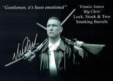 Vinnie JONES SIGNED Autograph Lock Stock and Two Smoking Barrels Photo AFTAL COA