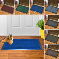 ANTI SLIP SMALL LARGE WASHABLE DOORMAT HEAVY DUTY KITCHEN BARRIER ENTRANCE  MATS