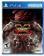 PLAYSTATION 4 PS4 GAME STREET FIGHTER V ARCADE EDITION BRAND NEW AND SEALED