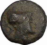 Side in Pamphylia 3rd-2nd Cent BC Ancient Greek Coin Athena Pomegranate i50470