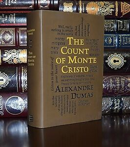 New The Count of Monte Cristo by Alexandre Dumas Unabridged Soft Leather Feel