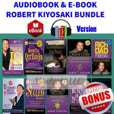 Huge Bundle Book and Audio Book Of Robert Kiyosaki Rich Dad Poor Dad (52 Items)