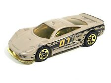 Hot Wheels Saleen S7 Camouflage 2007 Tan Gold Flame 07 Race Car Toy Gold Tint