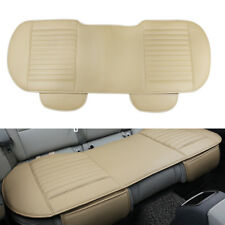 Nonslip Rear Car Seat Cover Breathable Cushion Pad Vehicle Supplies PU Leather