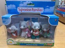 Sylvanian families ELEPHANT family figures boxed animals FLAIR EPOCH 2010