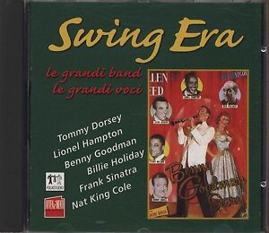 Swing Era - le grandi band le grandi voci TOMMY DORSEY BILLIE HOLIDAY SINATRA CD