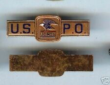 20 old obsolete USPO POST OFFICE mini Badges