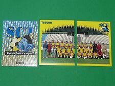 PANINI FOOT 98 SPORTING CLUB DE TOULON COMPLET FOOTBALL SAISON 1997-1998