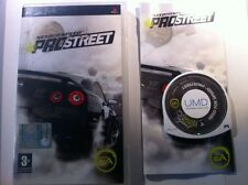 PSP - NEED FOR SPEED PRO STREET - UMD SONY - EDIZIONE ITALIANA