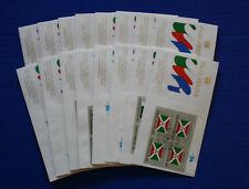 United Nations - 1984 Flag Series IB4 FDC set