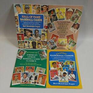 4 American/National League Baseball Card Classics Book Bert Randolph Sugar