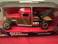 Jada Custom Peterbilt Tow truck  Fast & Furious 1:24 Scale NIB 2020 release