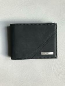 Quiksilver Mens ALL DAY PU WALLET - EQYAA03940 Solid Black
