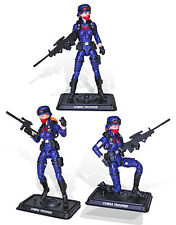GI JOE 2017 Club Exclusive Female Cobra Troopers 3 pack IN HAND