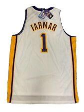New Jordan Farmar Mens 2X Size Los Angeles Lakers Adidas Swingman White Jersey