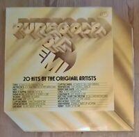 Various – Pure Gold On EMI - Vinyl LP Compilation 1973 EMI – EMK 251