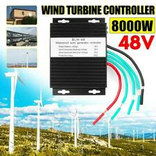 8000w Wind Turbine Charge Controller Dc 12v / 24v Generator Waterproof