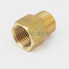 "1/2"" BSPT Male x 1/2"" NPT Female Brass Pipe Fitting Connector For Pressure Gauge"