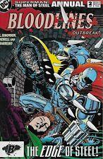 Superman The Man of Steel Annual No.2 / 1993 Louise Simonson & Eddy Newell