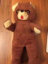 "Vintage Knickerbocker Bear Stuffed Plush ANIMALS OF DISTINCTION 17"" Kuddles Tag"
