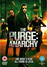 * NEW SEALED DVD FILM * THE PURGE ANARCHY * Horror Thriller Movie