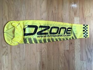 Extra Large Yellow Ozone Wind Sock for Paramotoring and Paragliding