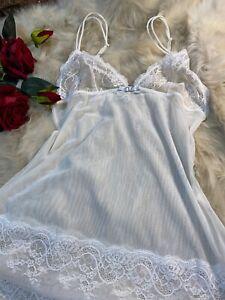 Ochiverdi Lapwrla white lace Camisole Top sleepwear nightwear size it3B us M euM