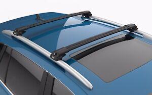 Turtle Air V1 Roof Racks Cross Bar Color Black for Mercedes GLE (W166) 2016-2022