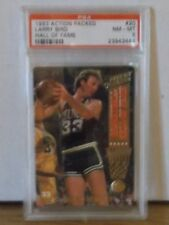 1993 Action Packed #20 - LARRY BIRD - HALL OF FAME - PSA 8 NM-MT