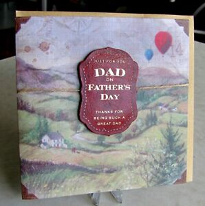 PAPYRUS Greeting Card Happy Father's Day Brand New