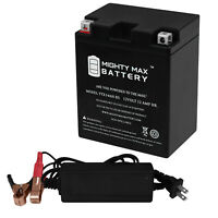 Mighty Max YTX20L-BS SLA Battery Replaces SigmasTek STX20L-BS 12V 4Amp Charger