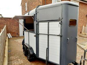 Horse box trailer conversion