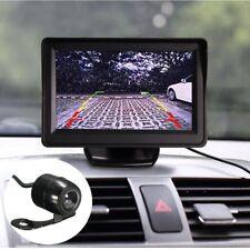 """4.3""""  LCD Car Rear View Monitor +170° Waterproof Parking Night Vision Camera Kit"""