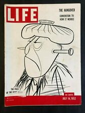 Life Magazine July 14 1952   The Hangover