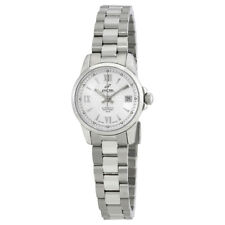 Enicar Ultrasonic Silver Dial Ladies Stainless Steel Watch 771/50/338AA