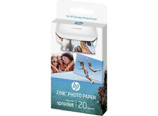 HP ZINK™ Sticky-backed Photo Paper 20 sheets 2 x 3 inch (1PF35A)