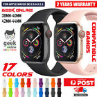 For Apple Watch iWatch Sports Band Series 6 5 4 3 2 1 SE 44mm 42 40mm 38mm Strap <br/> Premium Quality - 17 Colors - AUS Stock - Fast Dispatch