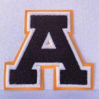 """Vintage High School Varsity Letter """"A"""" Achievement Sports Emblem, Chenille Patch"""