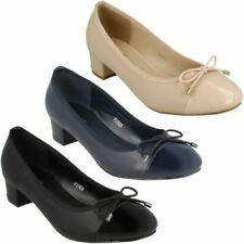 Zapatos de tacón de mujer Spot On de charol