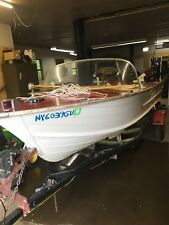 1961 Starcraft Viking 16' aluminum outboard fishing boat runabout nice vintage
