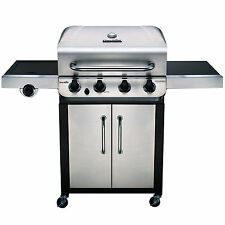 Char-Broil Performance 4-Burner Propane Gas Grill with Cabinet