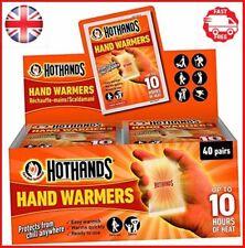 Hot Hands Hand Warmer 20 40 60 80 100 Pairs Cura-Heat Warmers 20