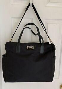 Kate Spade New York Weekender Nylon Large Women's Bag - Black Tote
