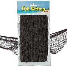 Party Supplies Hawaiian Under the Sea Fishing Net Decoration Black