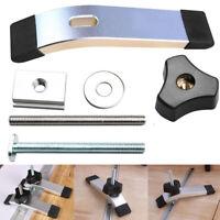 Metall-Schnellspann-Klemmsatz für Holzbearbeitungswerkzeuge mit T-Nut T-Schienen