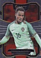 2017/18 Panini Select Soccer Sammelkarte, #72 Renato Sanches