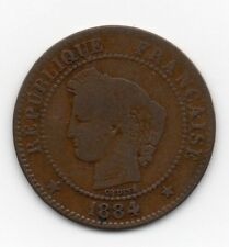 France - Frankrij - 2 Centime 1884 A