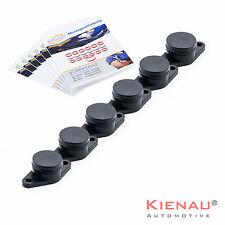 GFK Drallklappen Set 6 x 22 mm für BMW Swirl Flaps mit O-Ringen Ansaugbrücke Kit